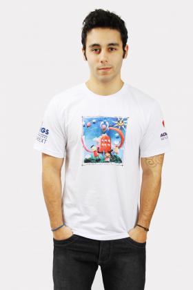 Camiseta Quadricromia